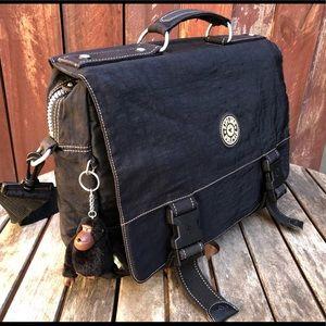 Kipling black messenger crossbody bag